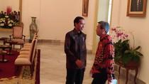 Jokowi Temui Utusan Shinzo Abe di Istana Bogor
