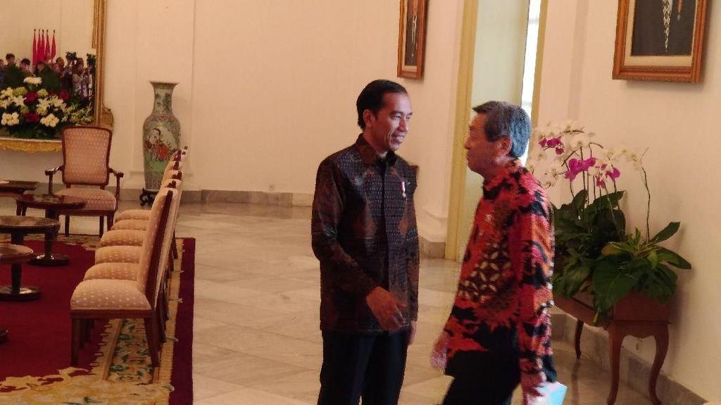 Jokowi dan Utusan Shinzo Abe Bahas Proyek MRT Cikarang-Balaraja