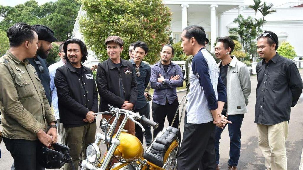 Motor Chopper Dijamin Cocok untuk Jokowi