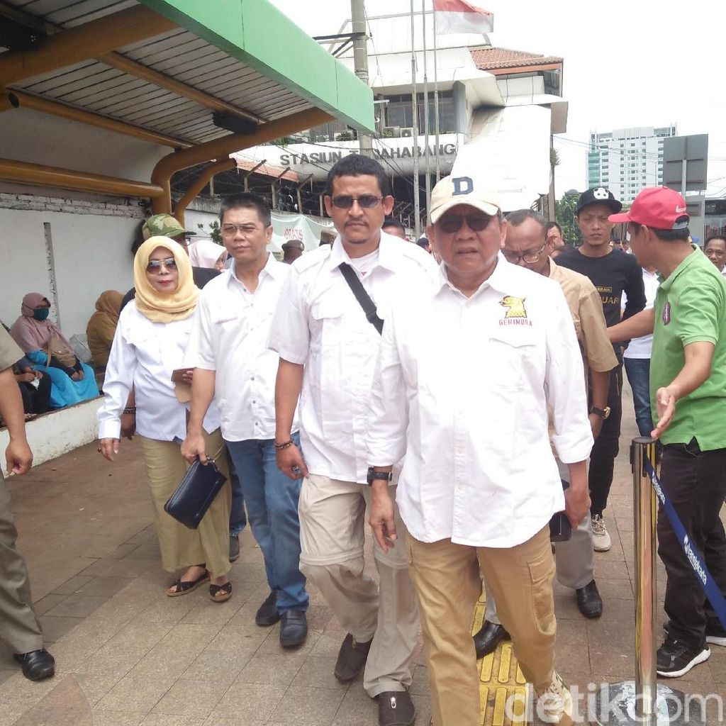 Cek Tanah Abang, M Taufik: Pedagang Happy tapi Perlu Diedukasi