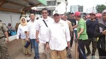 Cek Hasil Penataan PKL, Gerindra DKI Jajal Tanah Abang Explorer