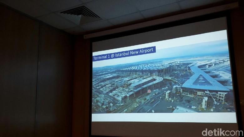 Pembangunan Istanbul New Airport (Kurnia/detikTravel)
