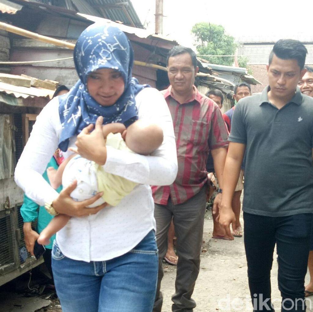 Polisi Serahkan Bayi yang Dijual Ibu Kandung untuk Beli Sabu