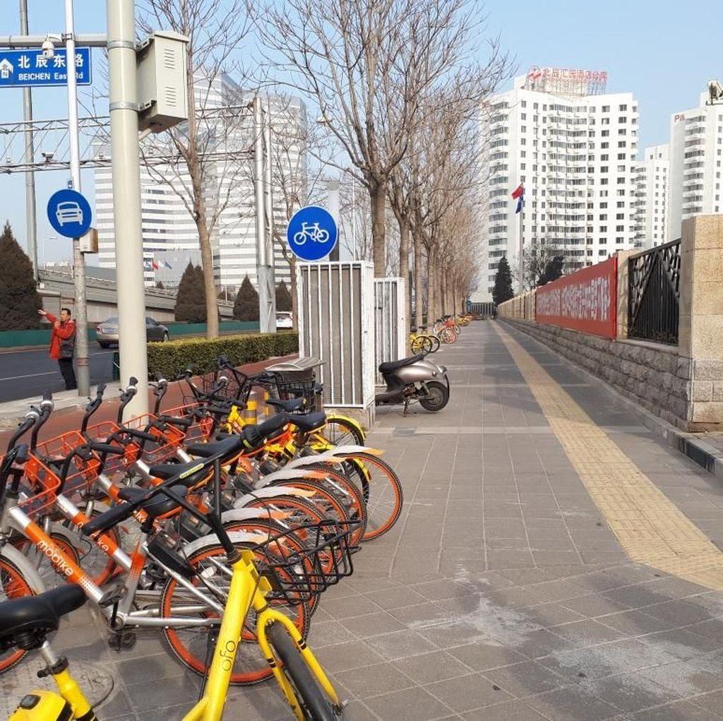 Melongok Sepeda Online Bermodal Triliunan Kuasai Beijing