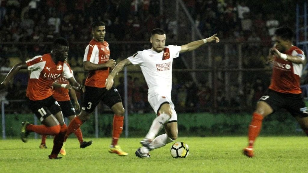 Gasak Home United 4-0, PSM Lolos ke Final Makassar Super Cup Asia