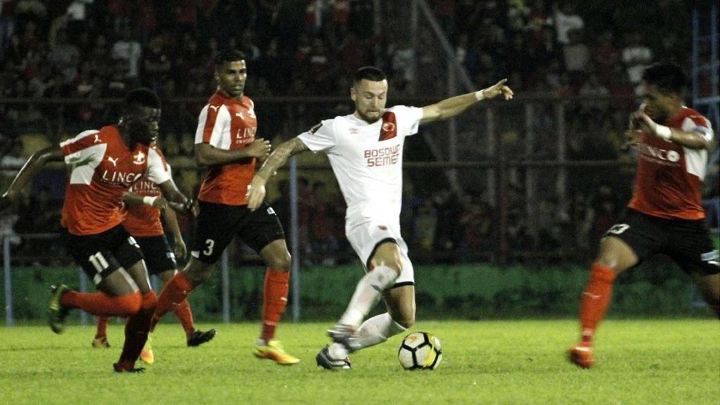 Gasak Home United 4-0, PSM Lolos ke Final Makassar Super Cup Asia