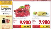 Promo Daging Rendang Rp 9.900 Per 100 Gram di Transmart Carrefour