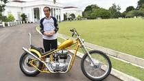 Ini Kesulitan Bikin Motor Chopper Punya Jokowi