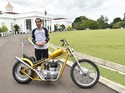 Ngegas Motor Chopper, Jokowi Bikin Heboh Paspampres