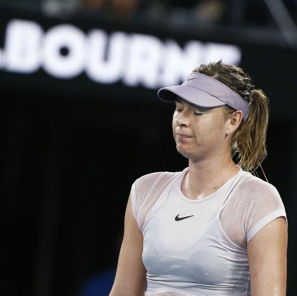 Dikalahkan Kerber, Sharapova Kandas di Babak Ketiga