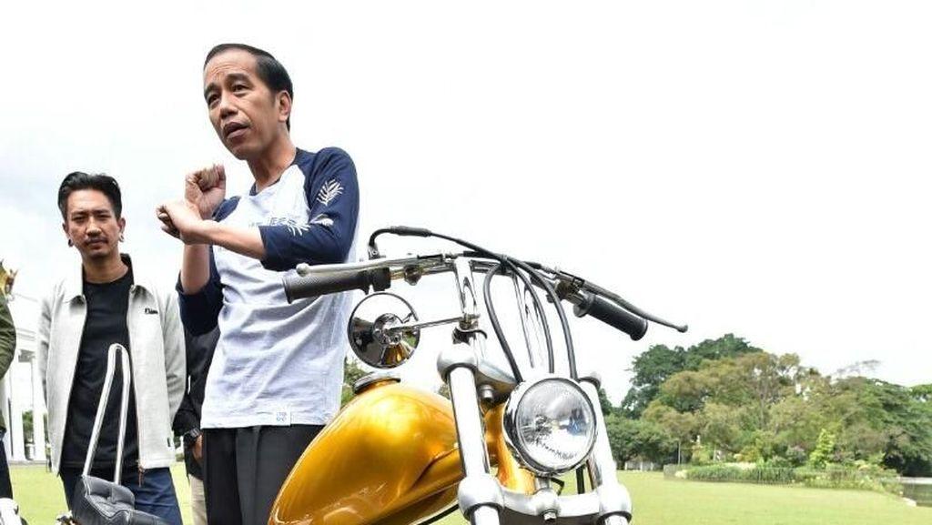 Surat Lengkap, Motor Chopper Jokowi Aman Dikendarai di Jalanan