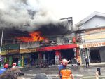 Toko Boneka dan Aksesori Olah Raga di Malang Ludes Terbakar