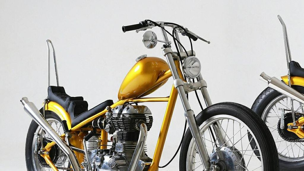Mau Beli Motor Chopper Kaya Punya Jokowi, Bisa Tidak Ya?