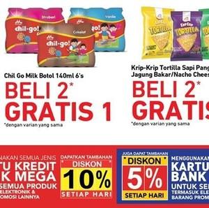 Tengah Bulan, Transmart Carrefour Tawarkan Promo Beli 2 Gratis 1