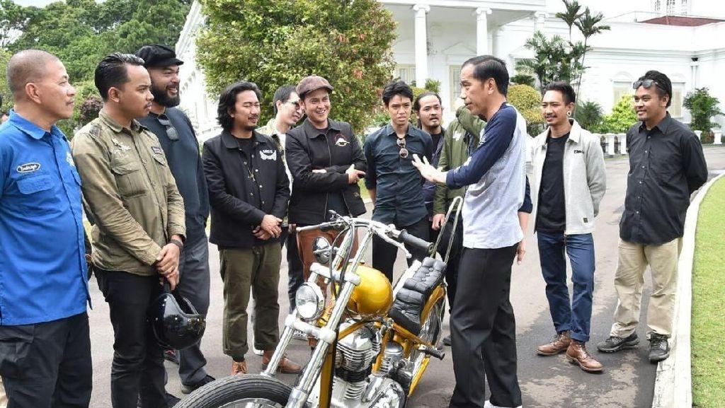 Kata Polisi Soal Motor Chopper Modifikasi Jokowi