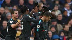 Hazard Dua Gol, Chelsea Kalahkan Brighton 4-0