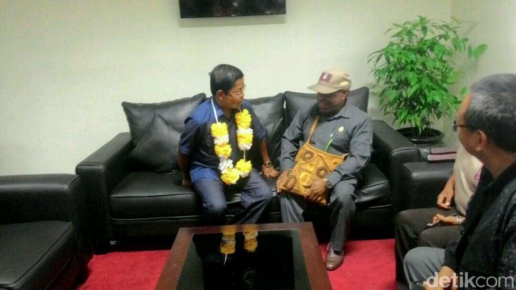 Mensos Idrus Marham Diperintahkan Jokowi ke Asmat