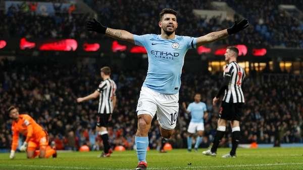 City Memimpin 1-0 atas Newcastle di Babak I
