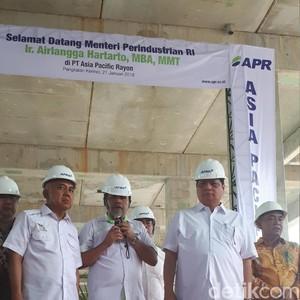 Pabrik Serat Tekstil di Riau Bisa Hemat Devisa RI US$ 500 Juta