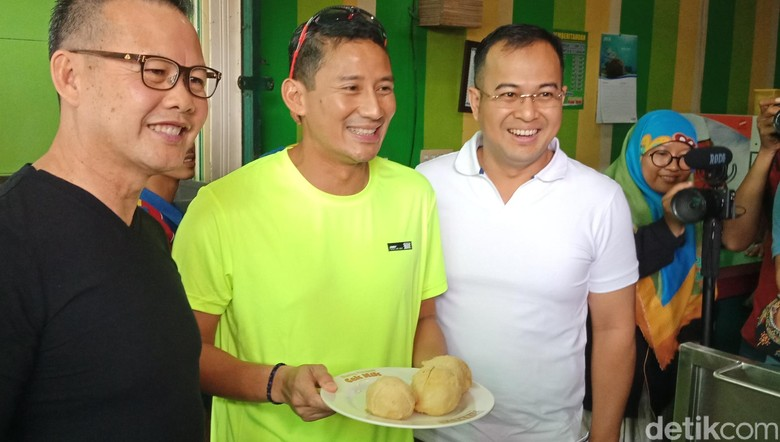 Sarapan Bareng Cagub-Cawagub Sumsel, Sandi Ngobrol soal OK OCE