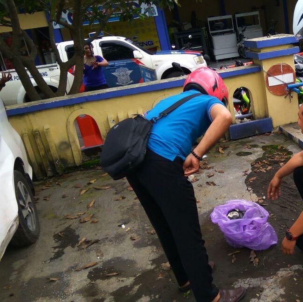 Benda Mirip Bom di Kantor Sat Lantas Polres Lumajang Diledakkan