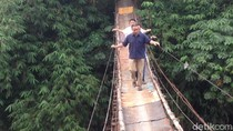 Jembatan Ngeri di Jagakarsa akan Diganti, Target Selesai 3 Bulan
