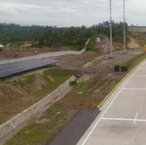 Tol Bakauheni yang Diresmikan Jokowi Dilengkapi PLTS 46 kWp