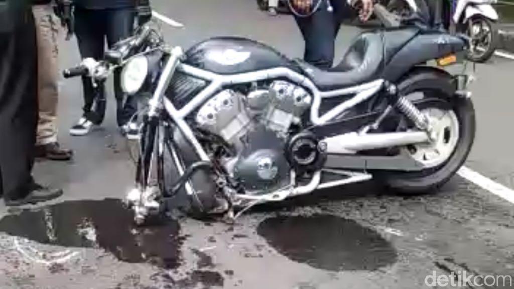 Kecelakaan Moge Vs Mobil, Ini Kata Polisi