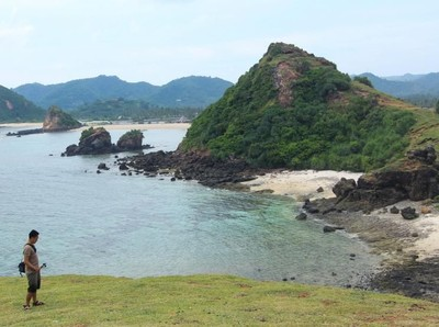 Ini Pantai Cantik di Lombok