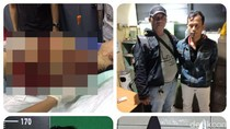 Martha Bos Toko HP Dibacok karena Persoalan Casing Handphone
