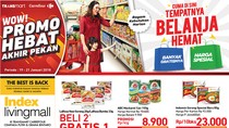 Promo Minyak Goreng & Daging Olahan di Transmart Carrefour