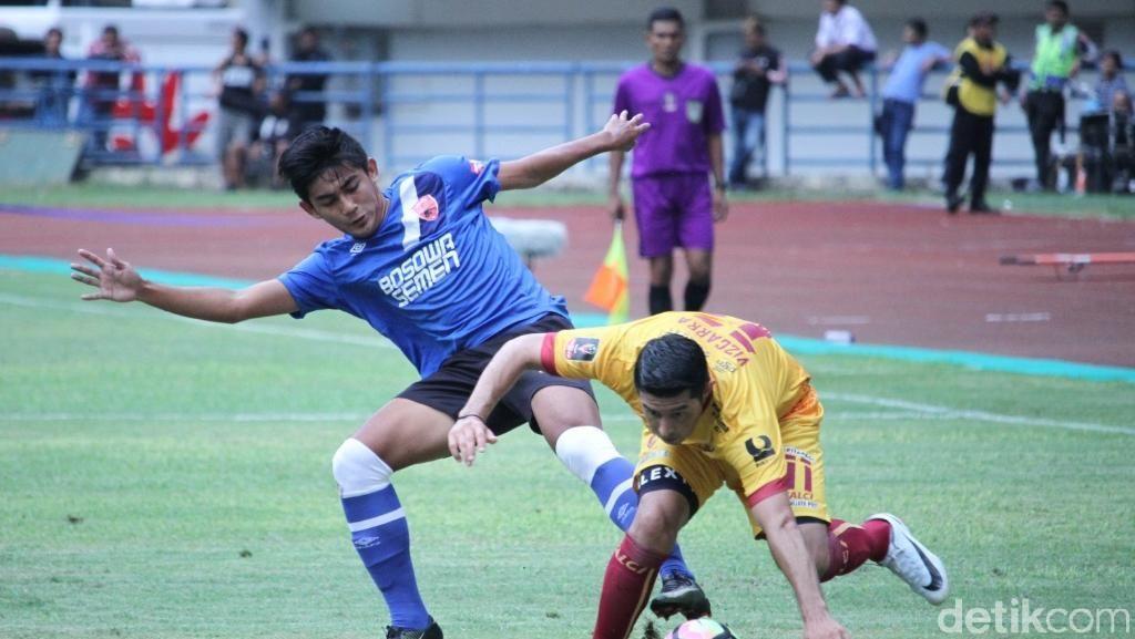 PSM Turunkan Tim Kedua Saat Kalah Telak dari Sriwijaya FC
