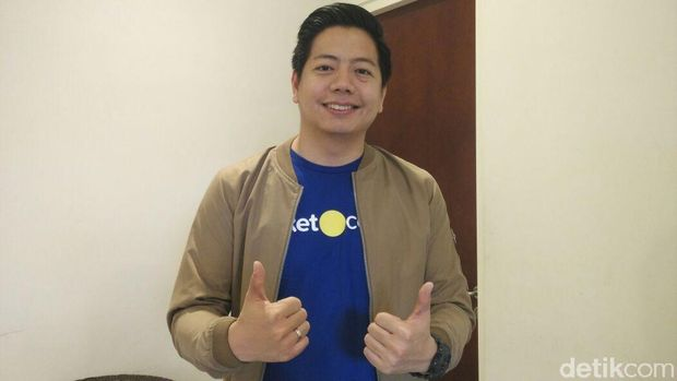 Gaery Undarsa, Co-Founder & CMO Tiket.com.