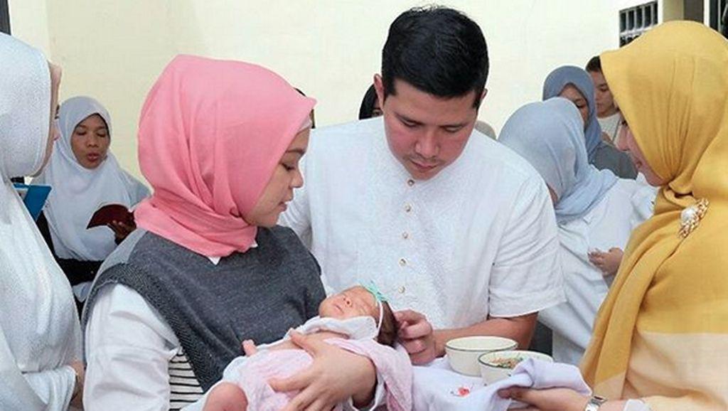 Haykal Kamil Gelar Akikah Anaknya, Sekalian Syukuran Rumah Baru