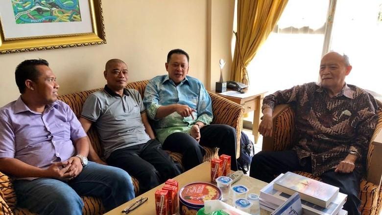 Bamsoet Dapat Wejangan dari Buya Syafii agar Tak Legalkan LGBT