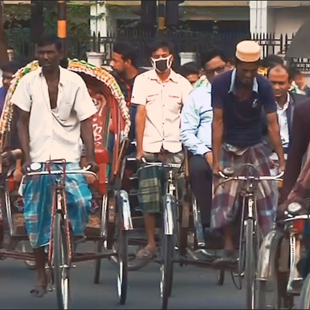 The Power of Pedal di India, Becak Hidupkan Warga