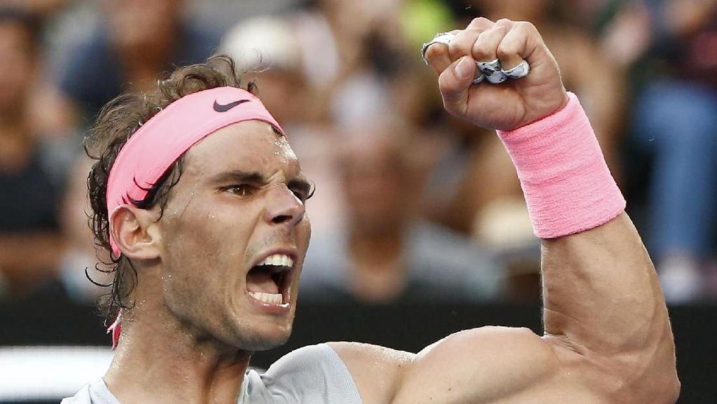 Nadal Akhirnya Kehilangan Set dalam Lajunya ke Perempatfinal