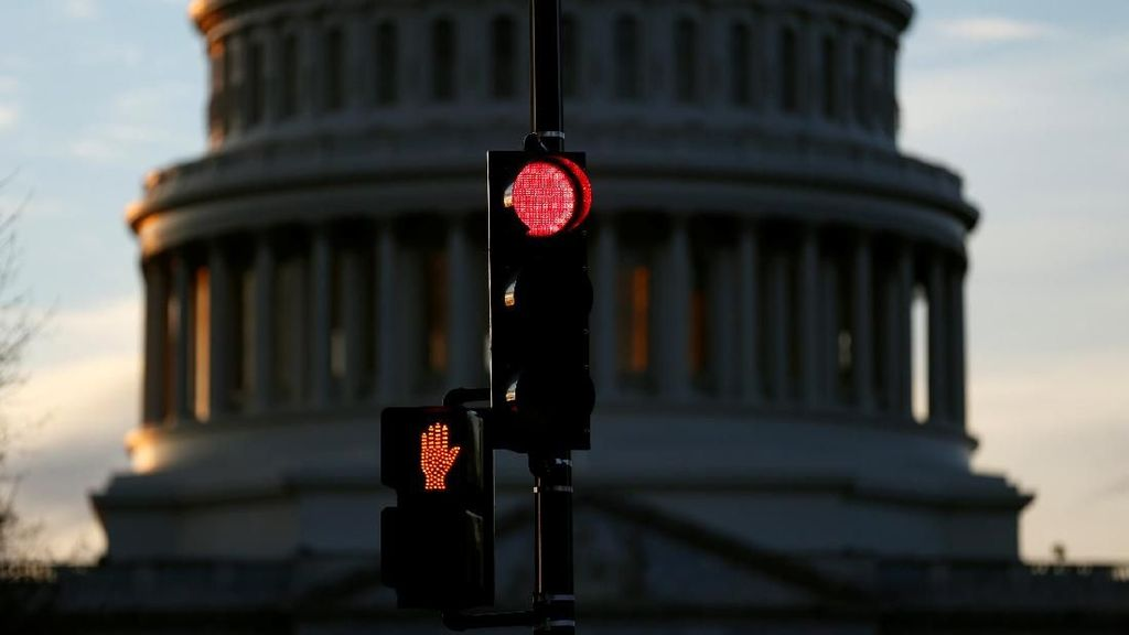 Negosiasi Trump-Demokrat Buntu, Pemerintah AS Masih Tutup
