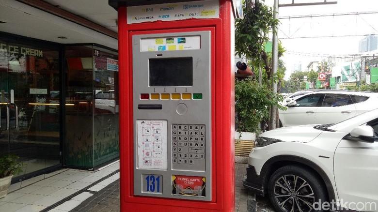 Parkir Meter di Jalan Sabang Sudah Mulai Beroperasi Kembali
