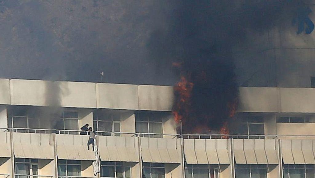 Tamu Hotel di Kabul Afghanistan Disandera, 3 Pelaku Ditembak Mati