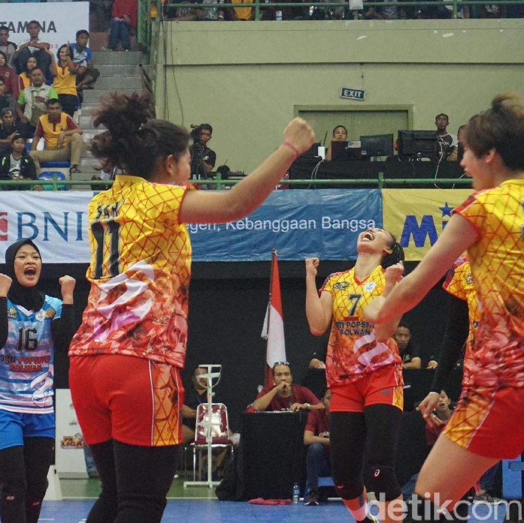 Kunci Kemenangan Jakarta PGN Popsivo Polwan atas Jakarta BNI Taplus