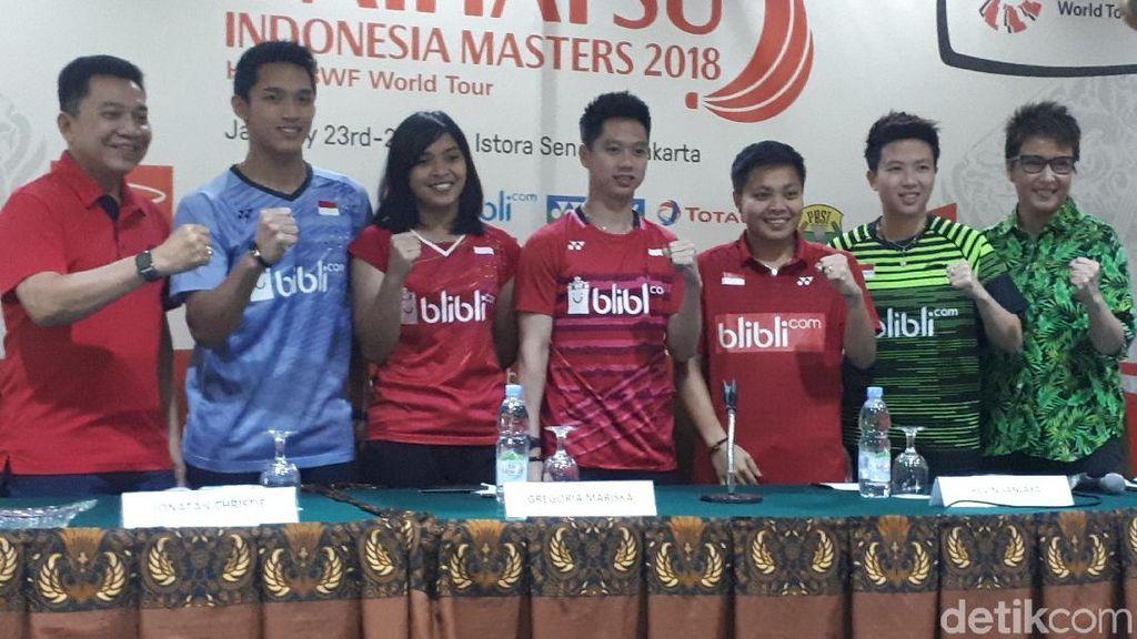 Indonesia Masters 2018 di Istora yang Baru Siap Digelar
