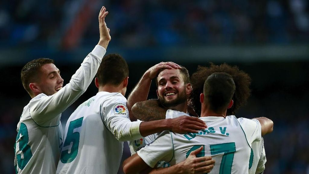 Madrid Pesta Gol di Bernabeu, Zidane: Ini yang Dibutuhkan Para Pemain