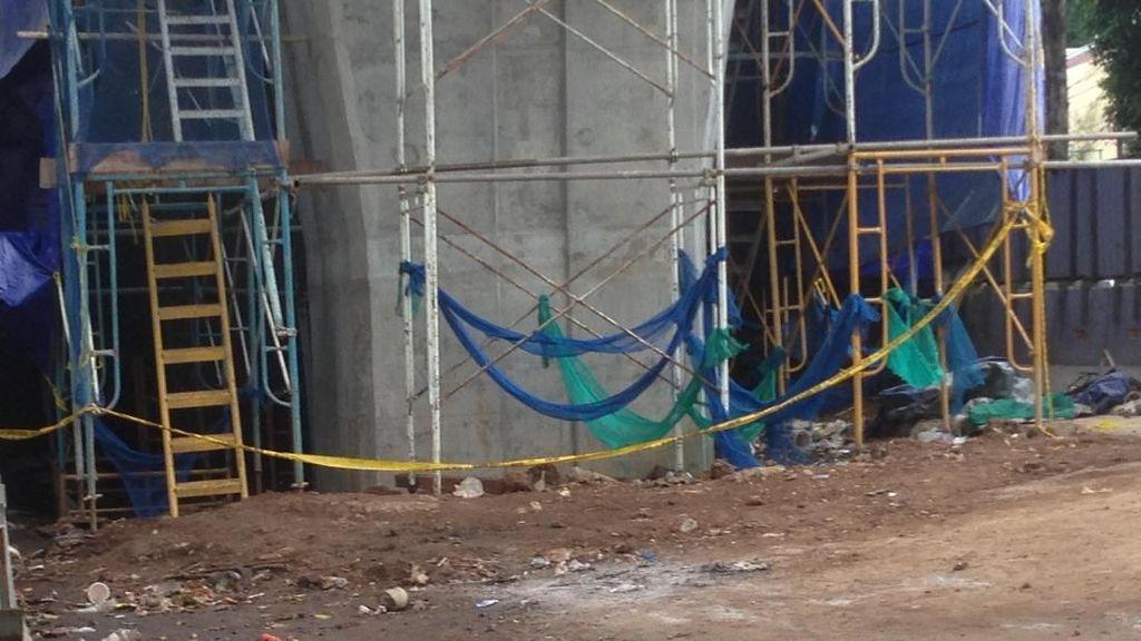 Proyek LRT Roboh, Polisi Uji Lab Tali Seling Pengangkat Beton