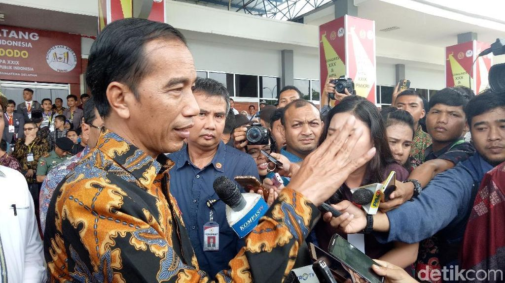Jokowi Sanjung Venue Asian Games di Palembang