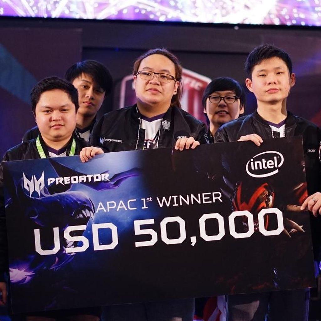 Tunduk dari Malaysia, Indonesia Juara Dua Turnamen Dota