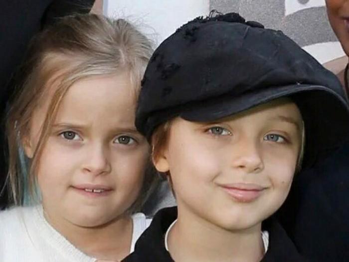 Vivienne dan Knox, Anak Kembar Angelina Jolie yang Cantik dan Ganteng