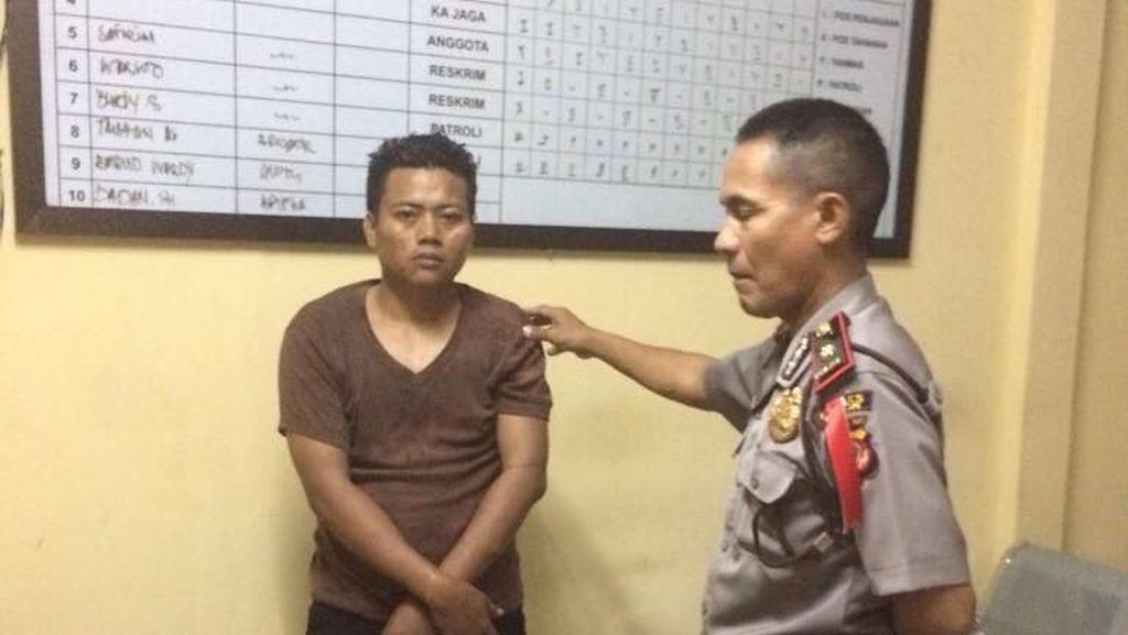 Mencuri di Masjid Sentul City, Sarip Ditangkap Polisi