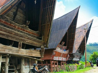 Favorit Turis Jerman, Desa Berumur Ratusan Tahun di Samosir