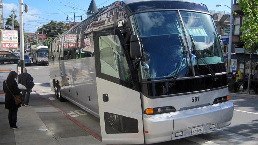 Bus Pengangkut Karyawan Apple jadi Sasaran Penembakan